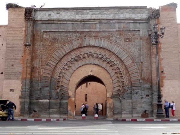 Marrakesch Bab Agnaou Tor Medina