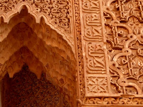 Marrakesch Zendernholz Grabmal Saadier freibeuter reisen