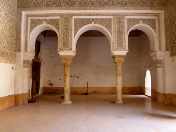 Marrakesch in der Medersa Ben Youseff Marokko Freibeuter reisen