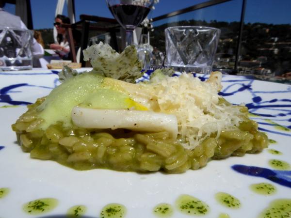 Restaurant Casamar Costa Brava Llafranc Risotto Arros carnoli calamar freibeuter reisen