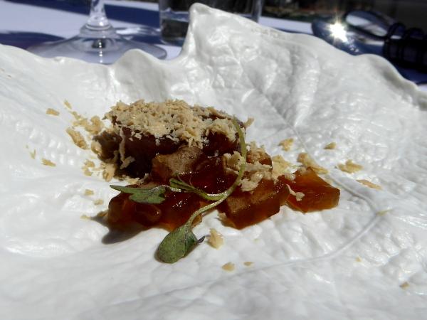 Restaurant Casamar Llafranc Costa Brava Feigengelee mit foie freibeuter reisen
