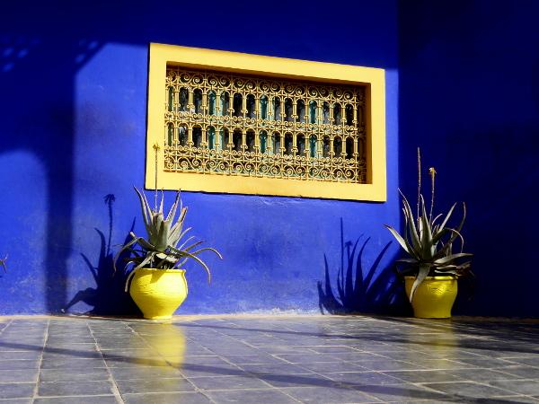 kobaldblau jardin majorelle freibeuter reisen