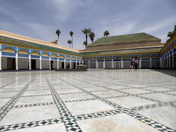 marrakesch palais bahia konkubinen lawrence of arabia freibeuter reisen marokko
