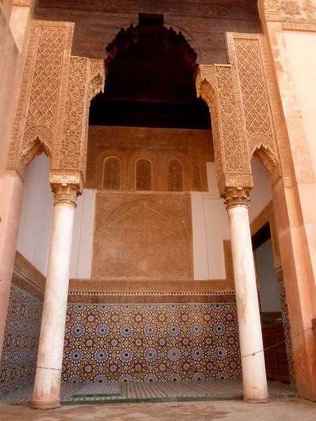 saadier grabmal frauen hoch marrakesch freibeuter reisen