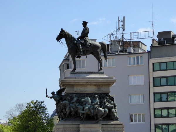 sofia Befreier Reiterstatue Zar Alexander II Bulgarien freibeuter reisen