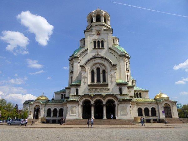 sofia alexander Newski kathedrale fassade bulgarien freibeuter reisen