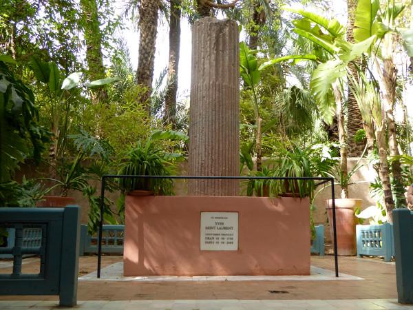 yves saint laurent jardin majorelle marrakesch freibeuter reisen