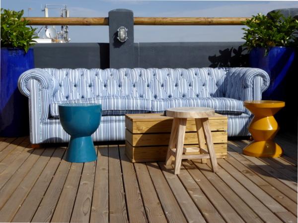 Hotel Delamar lloret de mar americanos chill sofa freibeuter reisen