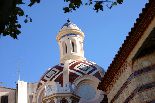 Kirche San Romà Kapelle links Lloret de mar Freibeuter reisen