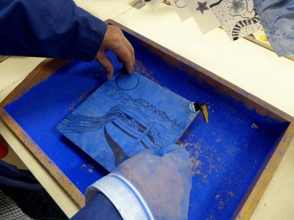 LA BISBAL EMPORDA FREIBEUTER REISEN ceramica torres josep blaue pausen keramik