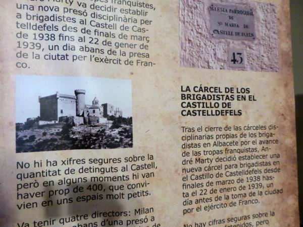 castelldefels ausstellung burg freibeuter reisen