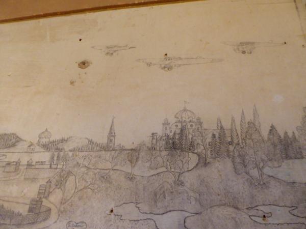 castelldefels zeichnungen bomber auf barcelona freibeuter reisen