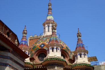 Die kurze Geschichte der bunten Kirche Sant Romà 1