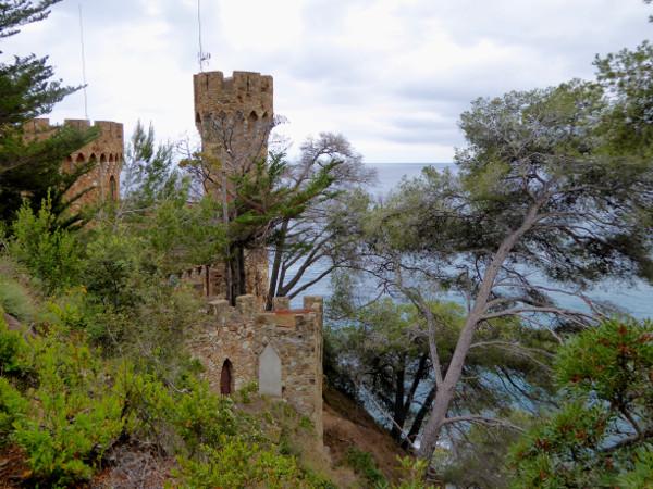 lloret de mar turo rodo castell bei siedlung der iberer freibeuter reisen