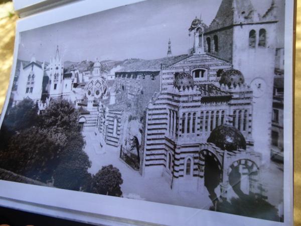 chwarz weisses foto der kirche sant romà lloret de mar freibeuter reisen