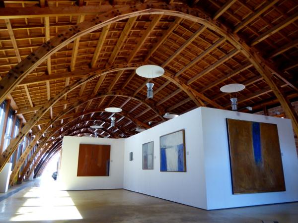 Architektur Halle Nau Gaudi Mataro freibeuter reisen