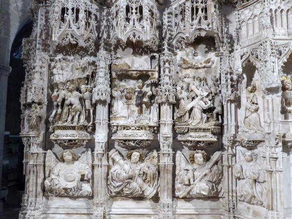 altarbild retaula kirche santa maria castello d-empuries freibeuter reisen