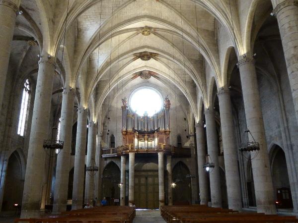 orgel Kirche Santa Maria Castello d-empuries freibeuter reisen