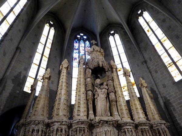 retaula Altarbild Alabaster santa Maria Castello d-empuries freibeuter reisen