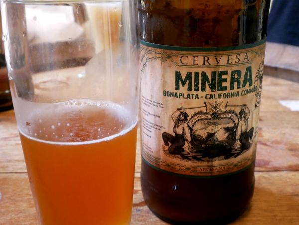 Cervesa Minera Bier aus den Bergen