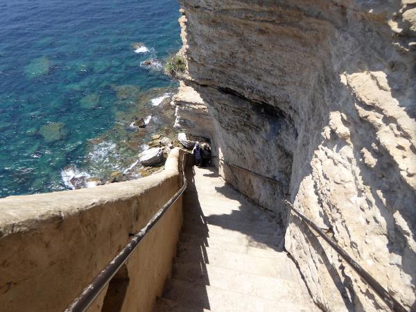 Korsika Treppe des Königs von Aragon
