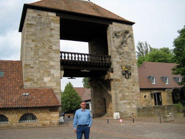 Deutsches Weintor in Schweigen-Rechtenbach