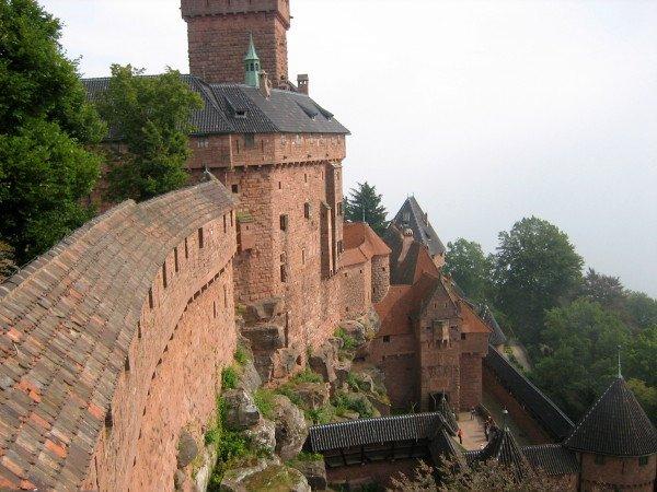 ELSASS hohkoenigsburg chateau haut koenigsburg