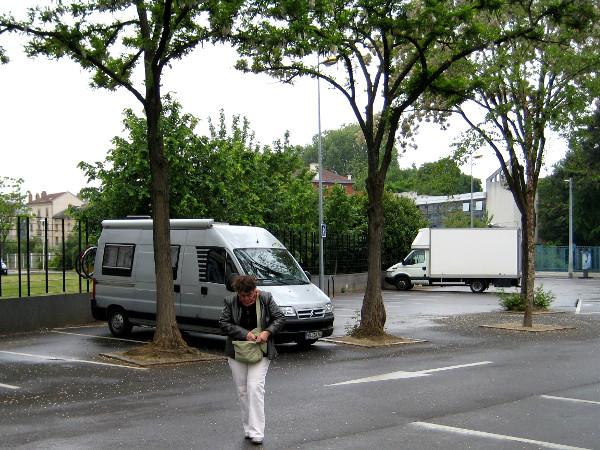 ELSASS Parkplatz in Nancy