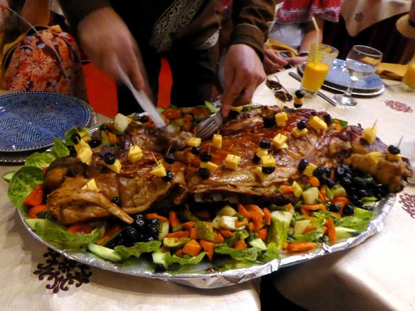 essen in marokko lamm