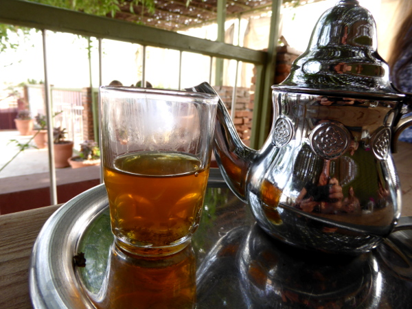 essen in marokko tee
