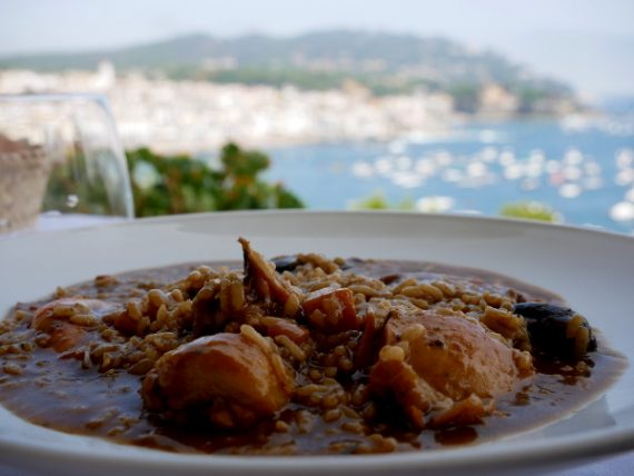 hotel sant roc restaurant arros negre mar i muntanya