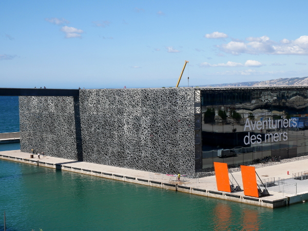 LE MUCEM Marseille Architektur Freibeuter reisen
