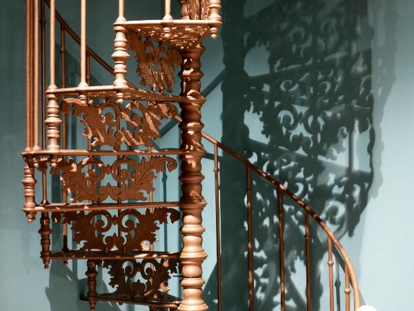 treppe hotel sabatier kunst montpellier freibeuter reisen
