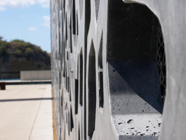 ultrahochfester beton MUCEM Marseille freibeuter reisen