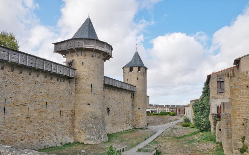 bruecke cité carcassonne