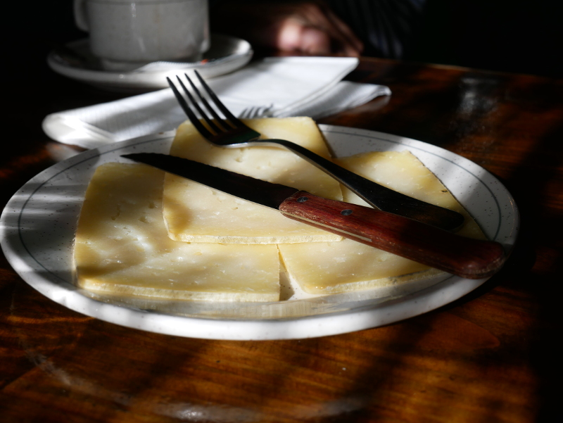 queso roncal Pyrenäen navarra spanien