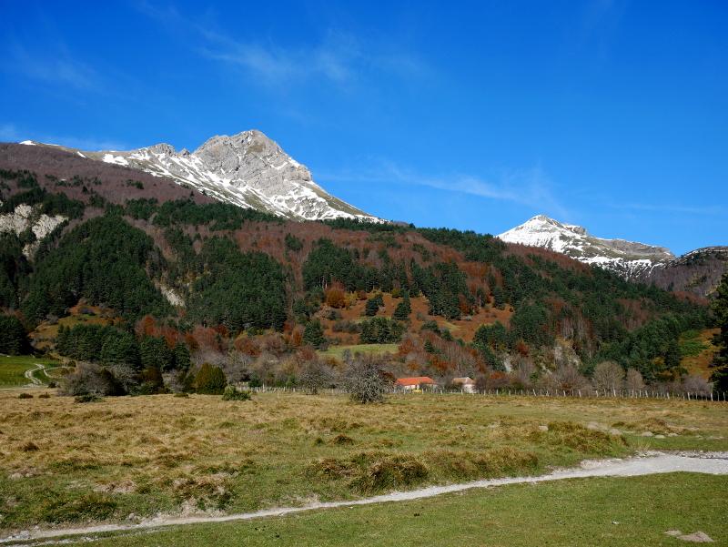 valle de roncal wandern in den Bergen Pyrenäen navarra spanien