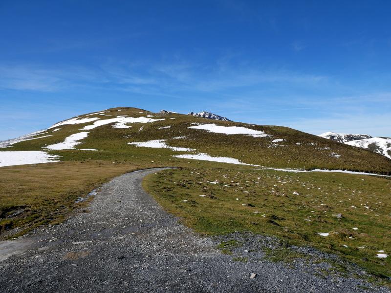 roncal wandern in den Bergen Pyrenäen navarra spanien