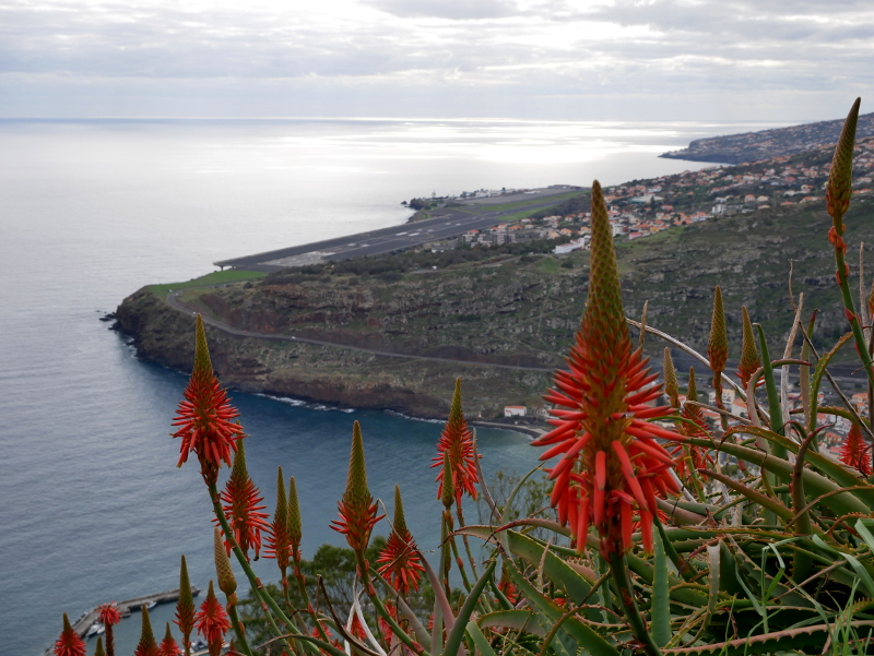 Airport Madeira flughafen Landebahn