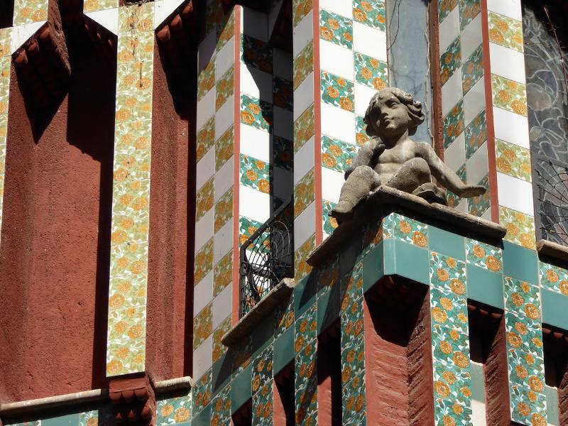 Casa Vicens Barcelona Engel