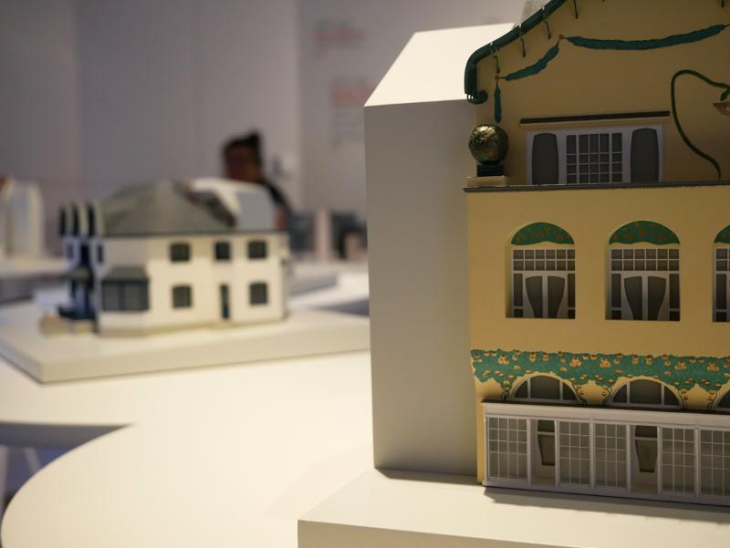Casa Vicens Barcelona Modell