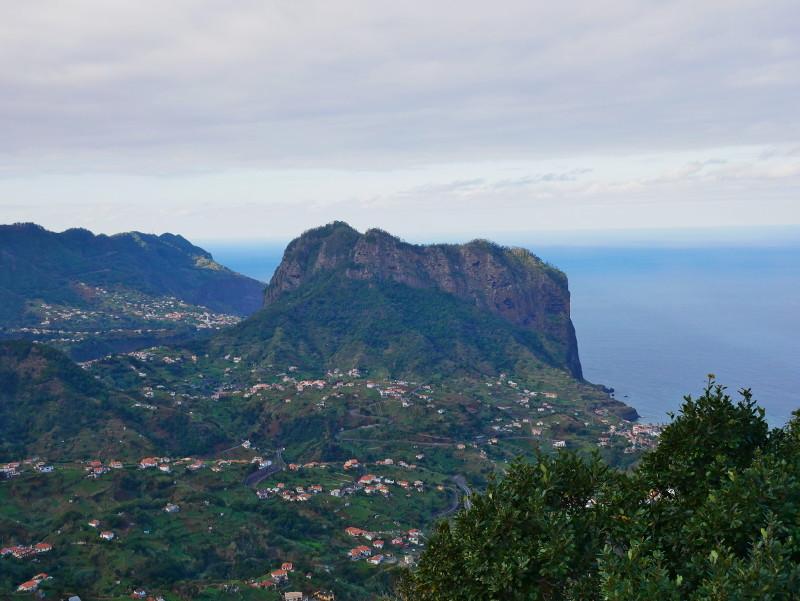 Madeira Blick auf Porto da cruz