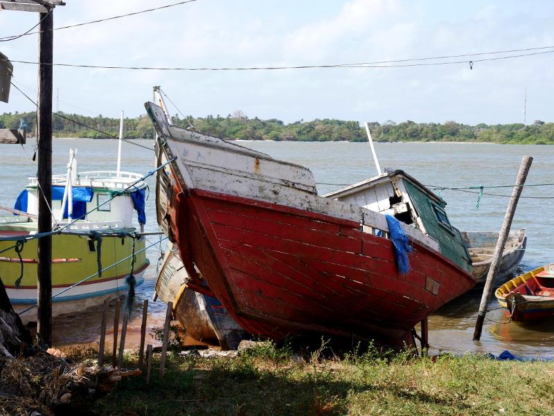 Boot Hafen Ilha Marajó Furo do Miguelão