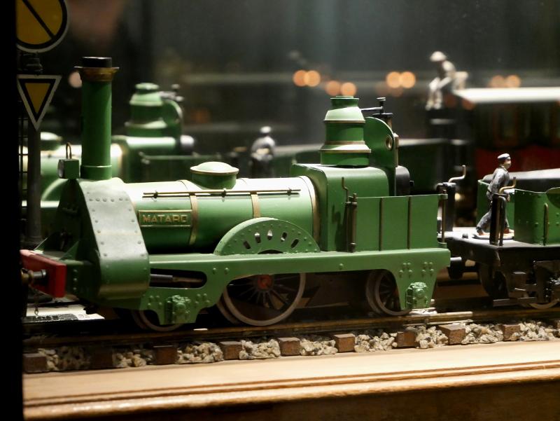 erste bahn spanien zug mataro spielzeugmuseum sant feliu de guixols