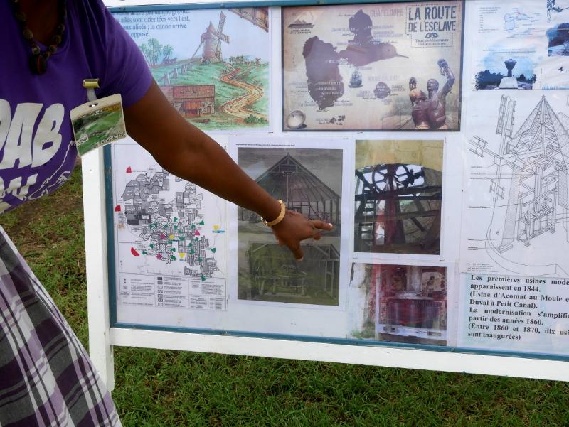 sehenswuerdigkeiten auf guadeloupe petit canal marches des esclaves