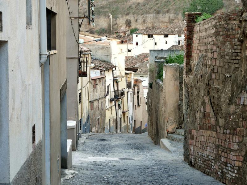 Balaguer Gasse Altstadt