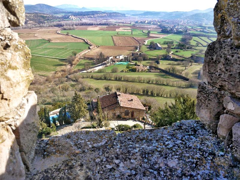 burg aussicht castell de montsonís