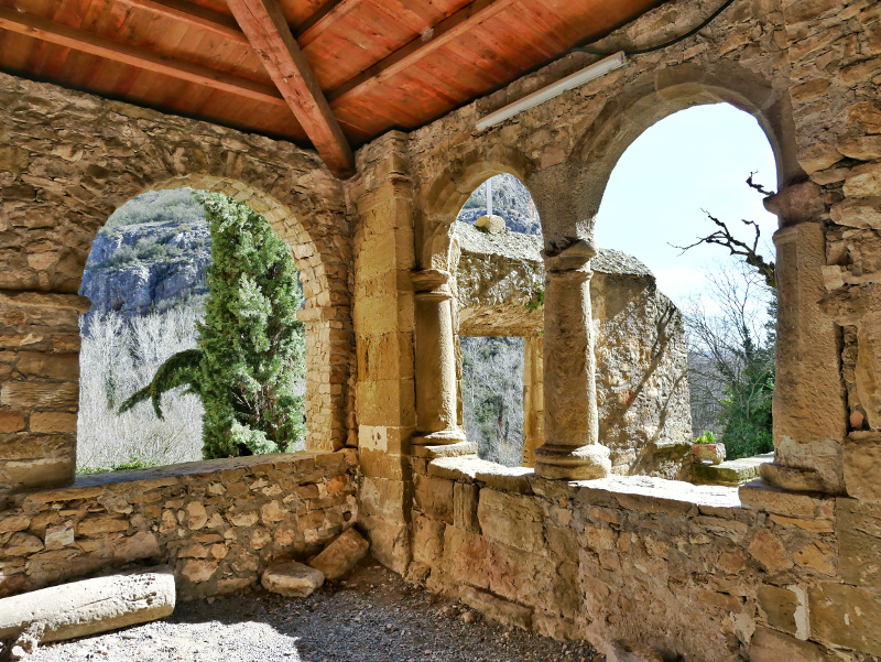 Kloster Fenster castell de montsonís
