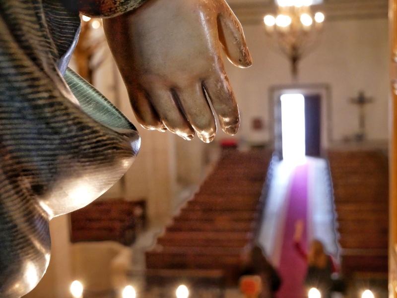 Hand Verge del remei Kirche Castell del remei