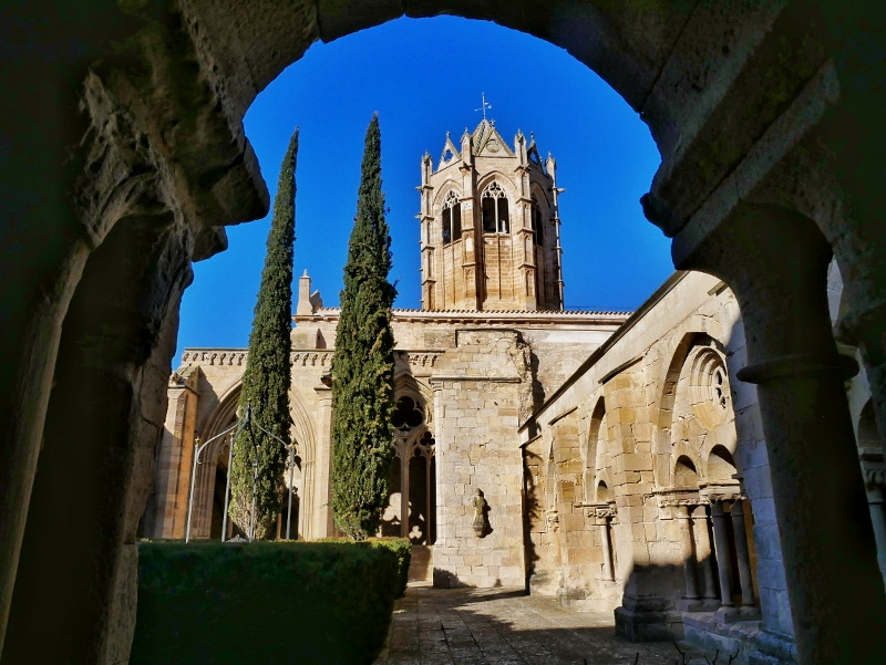 kreuzgang Kloster Vallbona de les Monjes Monestir